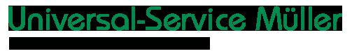 Universal-Service Müller Großhandel für Textilzubehör-Logo